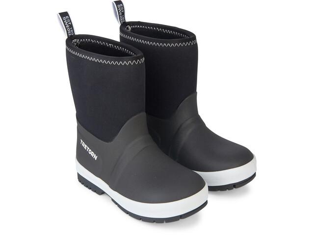 Tretorn Kuling Neoprene Rubber Boots Barn black/white